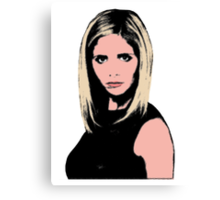 Pop Art Buffy Canvas Print