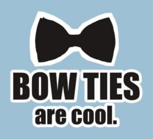 Bowtie's are cool Kids Clothes