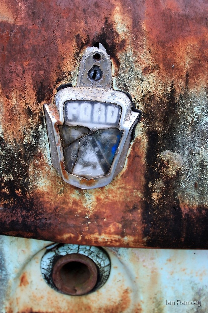 Rusty FORD, Yarras, NSW by Ian Ramsay