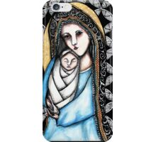 'A child is born' Christmas design iPhone Case/Skin