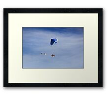 I feel like a bird .2 Framed Print