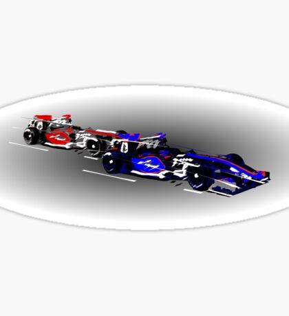 Race cars Sticker