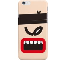 Big Warrior (Big Mouth Collection) iPhone Case/Skin