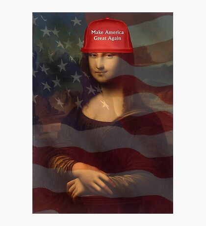 Make Mona Great Again! Photographic Print