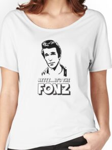 The Fonz - AAAYYYY - Happy Days Women's Relaxed Fit T-Shirt