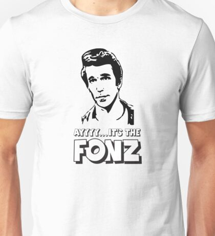 The Fonz - AAAYYYY - Happy Days Unisex T-Shirt