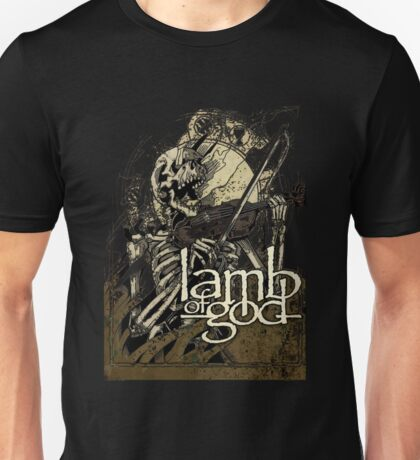 Lamb of God metal Unisex T-Shirt