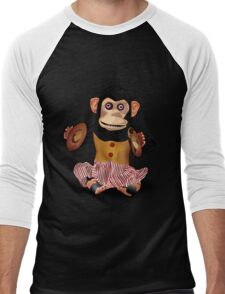 Clapping Monkey Men's Baseball ¾ T-Shirt