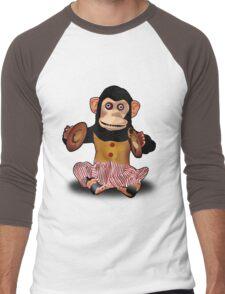 Clapping Monkey Men's Baseball ¾ T-Shirt