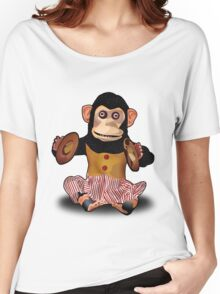Clapping Monkey Women's Relaxed Fit T-Shirt