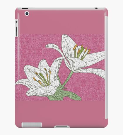 Pretty White Lilies iPad Case/Skin