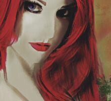 Monologue – Redhead Portrait Sticker