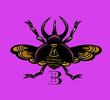 traditional 3 horned beetle by bhoare-smith