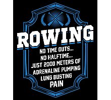 2000 Meters Rowing Photographic Print