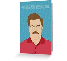Please & Thank You -Swanson Greeting Card