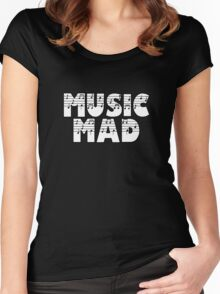 SOLD - MUSIC MAD Women's Fitted Scoop T-Shirt