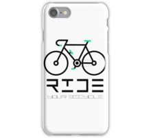 Cycle Your Bike and Ride a Bicycle Often Keep Cycling iPhone Case/Skin