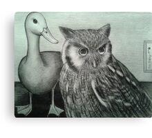 Who Quack Canvas Print
