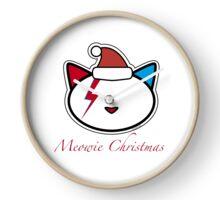 Meowie Christmas Clock