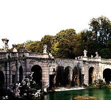 Royal Palace of Caserta Waterfalls by GiroFra95