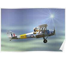 Teddys flying lesson 01 Poster