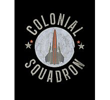 Battlestar Galactica Colonial Squadron classic TV Photographic Print