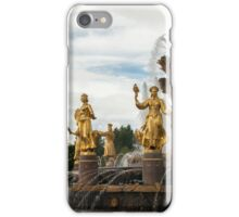 The Peoples Friendship Fountain. iPhone Case/Skin