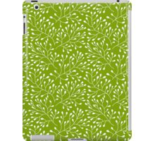 Floral green seamless pattern iPad Case/Skin