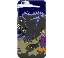 Fetch werewolf, fetch! iPhone Case/Skin