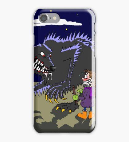 Fetch werewolf, fetch! iPhone Case/Skin