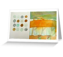 paperbag abstract Greeting Card