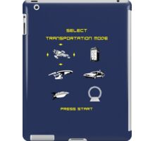 Sci-Fi Transportation iPad Case/Skin