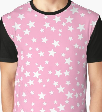 Cute stars pattern in pajama style Graphic T-Shirt