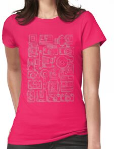 Paparazzi Grey Womens Fitted T-Shirt
