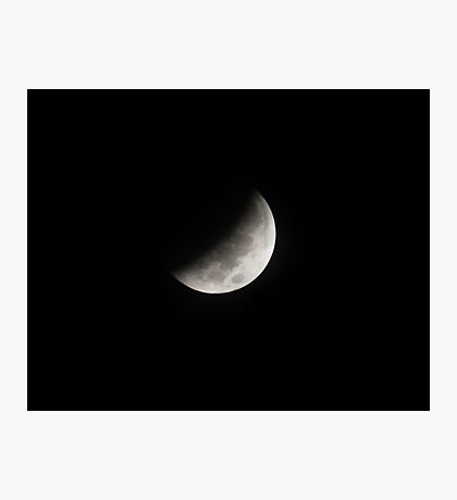 Lunar Eclipse October 2014 Photographic Print