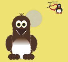 Halloween Penguin - Werewolf (Werepenguin!) Baby Tee