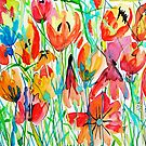 Free Floral by marlene veronique holdsworth