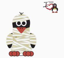 Halloween Penguin - Mummy by jimcwood