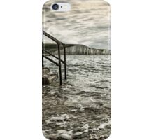 Come in and get your feet wet iPhone Case/Skin