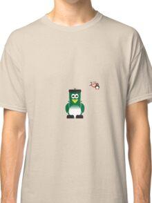 Halloween Penguin - Frankenstein Classic T-Shirt