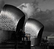 Thames Barrier, London by jamesdt