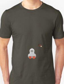 Halloween Penguin - Ghost Unisex T-Shirt