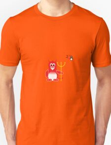 Halloween Penguin - Devil Unisex T-Shirt