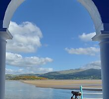 View Through an Arch at PortMeirion by relayer51