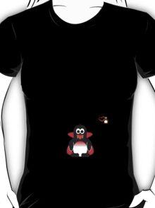 Halloween Penguin - Dracula T-Shirt