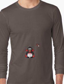 Halloween Penguin - Dracula Long Sleeve T-Shirt