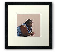 Woman 1 Framed Print