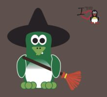 Halloween Penguin - Witch Kids Clothes