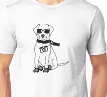 Hipster Labrador - Cute Dog Cartoon Character Unisex T-Shirt