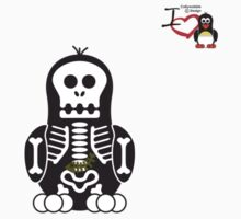 Halloween Penguin - Skellybones (Skeleton) by jimcwood
